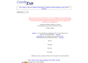 confexdb.co.uk