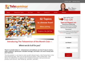 confidentteleseminarleader.com