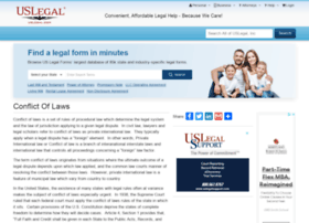 conflictoflaws.uslegal.com