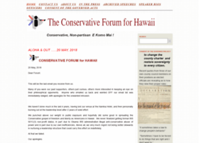 conforhawaii.com