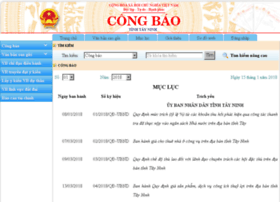 Congbao.tayninh.gov.vn
