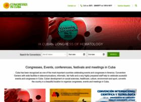 congressesincuba.com