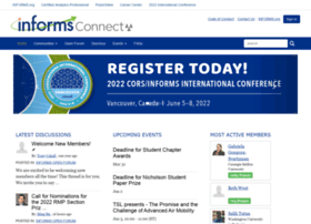 connect.informs.org