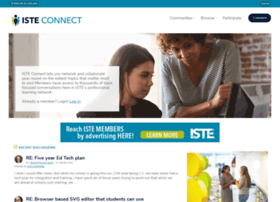connect.iste.org