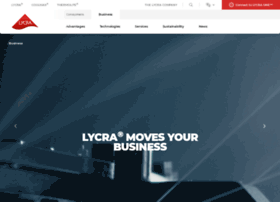 connect.lycra.com
