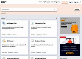 connect.manageengine.com