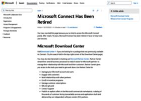 Connect.microsoft.com