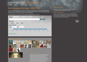 connectedhistories.org