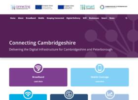 connectingcambridgeshire.co.uk