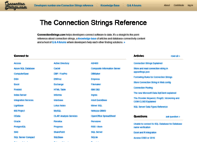 connectionstrings.com