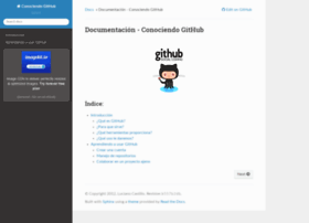 conociendogithub.readthedocs.org