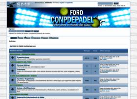 conpdepadel.com