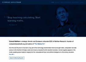 conradwolfram.com