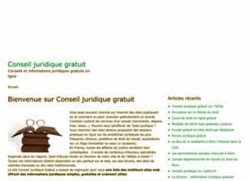 conseil-juridique-gratuit.info