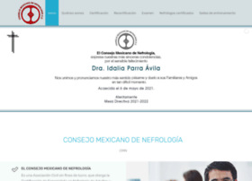 consejomexicanodenefrologia.org