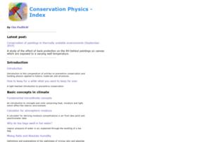 conservationphysics.org