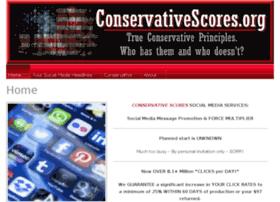 conservativescores.org