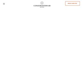 conservatoriumhotel.com