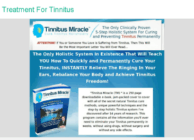 constant-ringing-in-ears.treatment-for-tinnitus.com