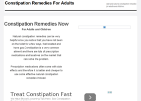 constipationremediesnow.com