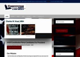 constitutionpartynm.com