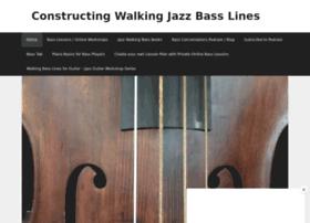 constructingwalkingjazzbasslines.com
