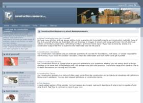 Construction-resource.com