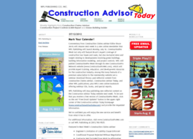 constructionadvisortoday.com