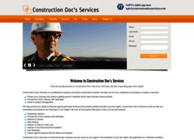 constructiondocsservices.com