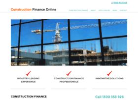 constructionfinanceonline.com.au