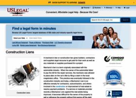 constructionliens.uslegal.com