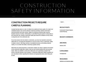 constructionsafetyiinformation.wordpress.com