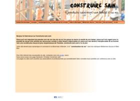 construire-sain.com