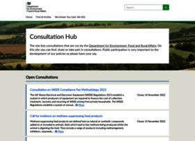consult.defra.gov.uk