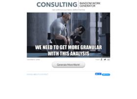 consultingrandomworkgenerator.com