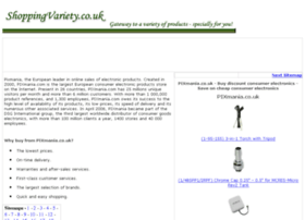 consumer-electronics-online.shoppingvariety.co.uk