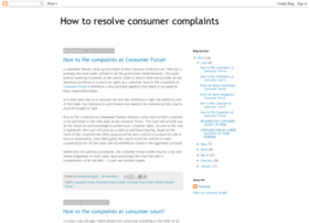 consumer-forums.blogspot.in
