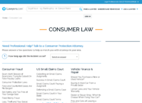 consumer-law.lawyers.com