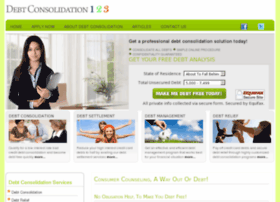 consumer.debtconsolidation123.net