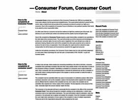 consumerforumblog.wordpress.com