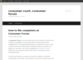 consumerforums.blog.com
