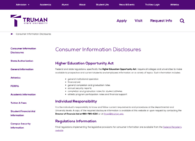 consumerinformation.truman.edu