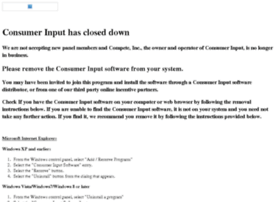 consumerinput.com