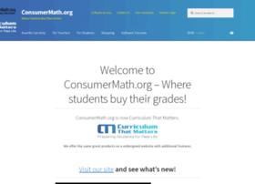 consumermath.org