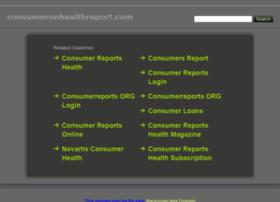 consumeronhealthreport.com