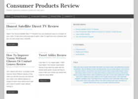 consumerproductsreview.net