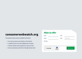 consumerwebwatch.org