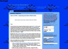 consumingexperience.com