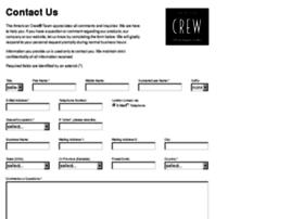 contact.americancrew.com