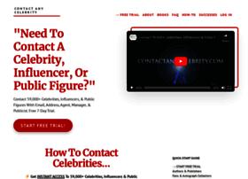 contactacelebrity.com